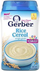 gerber cereal rice 16 oz 454 g