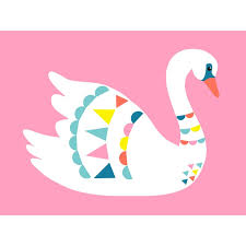 Isabelle Max Mute Swan Posters That Stick Wall Decal Wayfair