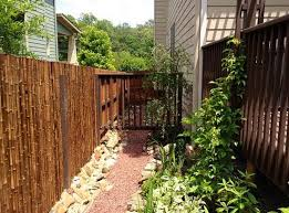 bamboo garden fencing ideas