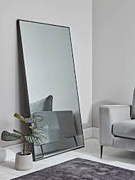 oversized antiqued floor mirror in 2020