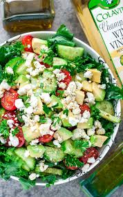 greek kale salad recipe with easy