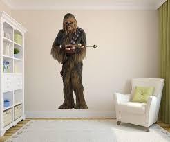 Chewbacca Wall Decal Star Wars Art Decor Star Wars Decal Etsy