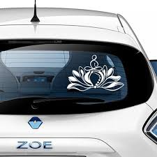 Bohemia Lotus Decal Mandala Lotus Flower Car Decals Vinyl Mandala Car Window Decor Rear Window Car Decoration Accessories Z948 Wall Stickers Aliexpress