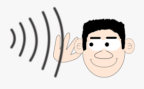 Hearing Clipart Large Ear - Ear Sound Waves Clipart , Transparent ...