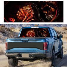 Poker Grim Reaper Car Pickup Truck Suv Rear Window Graphic Stickers Decals Auto Sticker Exterior Accessories Car Stickers Aliexpress