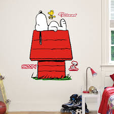 Robot Check Snoopy Wall Decal Snoopy Wall Decals