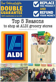 reasons to at aldi grocery s