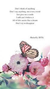 butterfly by bts lyrics bts lyric bts quotes bts