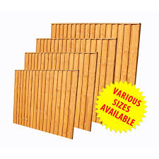 Fence Panel Vertical 6ft W X 5ft H 1 8m X 1 5m