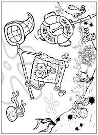Kleurplaten En Zo Kleurplaten Van Spongebob