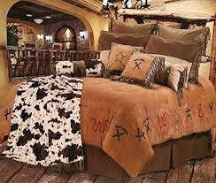 cowboy western bedding set queen