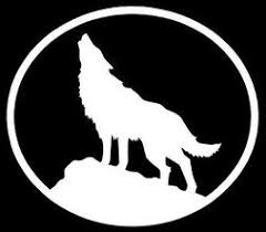 Wolf Car Decal Cardecal Org