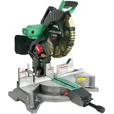 Metabo Hpt Was Hitachi Power Tools 12 In 15 Amp Dual Bevel Compound Corded Miter Saw In The Miter Saws Department At Lowes Com