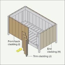 build a deck box diy deck building a