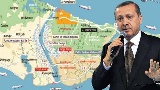 """kanal istanbul erdoğan ile ilgili görsel sonucu"""""""