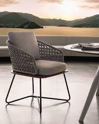 upholstered garden chair rivera