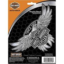 Harley Davidson Motor Cycle Bike Decal Sticker Hd Truck Car Chrome Eagle 026018 Diesel Power Plus Store