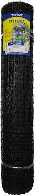 Amazon Com Tenax 2a140081 Pet Fence Pro 5 X 100 Black Garden Outdoor