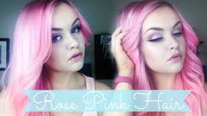 pink hair ion color brilliance rose