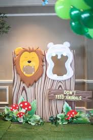 diy birthday party ideas for zoo