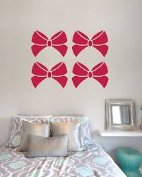Sarah Ribbon Bows Sticker Decal Vinyl Wall Art Company