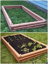 diy timber raised garden bed 20 diy