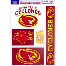 Iowa State Cyclones Decals 5ct Party City
