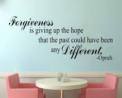 Buy Forgiveness Is Different Vinyl Wall Decal Oprah Winfrey Inspirational Quote Inspiring Home Dcor Welcome Housewarming Wedding Anniversary Birthday Gift Features Price Reviews Online In India Justdial