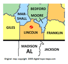 Lincoln County, Tennessee Genealogy Genealogy - FamilySearch Wiki