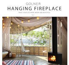 wall hanging bio ethanol fireplace