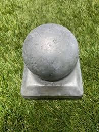 Fence Post Cap Ball Top 100mm 4x4 Galvanised
