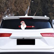 Atralife Wiper Sticker Santa Adhesive Car Decal For Decor Walmart Com Walmart Com
