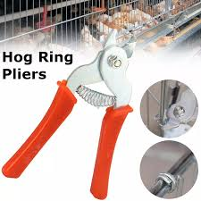 Hog Ring Pliers Tool M Clips Staples Bird Chicken Mesh Cage Wire Fencing Netting Lazada Ph