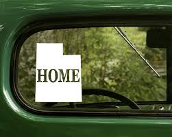 The Decal And Sticker Mafia 2 Utah Home Decals Map Sticker For Car Truck Laptop Rv Window Bumper Boat