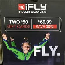 ifly indoor skydiving gift card video