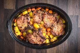 crock pot pork chops with onion soup