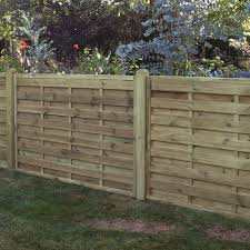 Horizontal Boarded Fence Panel Pressure Treated Free Delivery Available