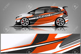 Car Decal Wrap Design Vector Graphic Abstract Stripe Racing Royalty Free Cliparts Vectors And Stock Illustration Image 125574465