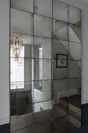 interior large frameless wall mirrors