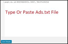 how to add ads txt file in wordpress