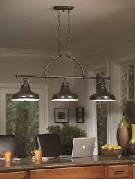 light linear island ceiling pendant
