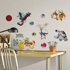 Roommates Pokemon Xy Peel And Stick Wall Decals Rmk2625scs Multi Amazon Com