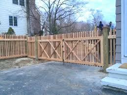 Cedar Picket Fencing Britain Fence Wood Picket Fence Wood Gates Britain Fence Company Ct