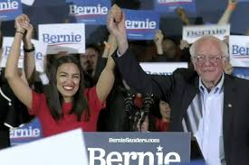 Image result for bernie and aoc
