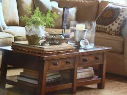 coffee table decor photograph