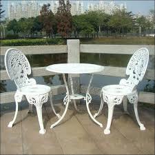 aluminium outdoor dining table