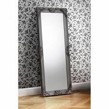 large pewter mirror wayfair co uk