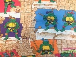 teenage mutant ninja turtles bed sheet
