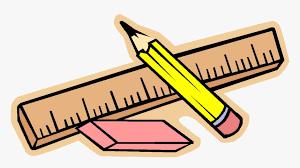 Pencil Clipart Divider X Transparent Png - School Supplies Clipart, Png  Download - kindpng