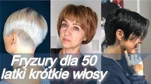 Top 20 Fryzury Dla 50 Latki Krotkie Wlosy Lato 2019 Youtube